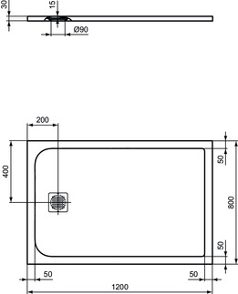 IS_UltraFlatS_K8227_PrListDrw_NN_shower-tray120x80