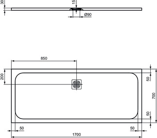 IS_UltraFlatS_K8281_PrListDrw_NN_shower-tray170x70
